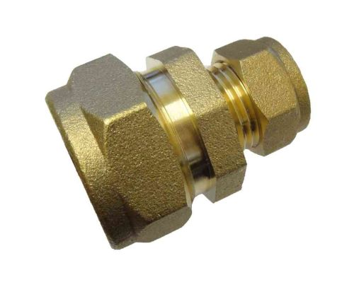 """1/2"""" 6lb Lead to 15mm Copper Pipe Coupler"""
