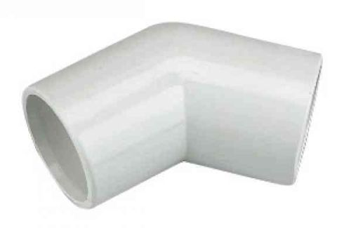 Overflow 45 Degree Elbow 21.5mm Solvent Weld PVC-U
