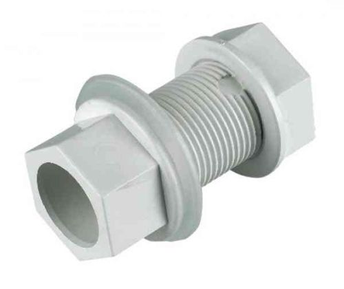 Overflow Tank Connector 21.5mm Solvent Weld PVC-U