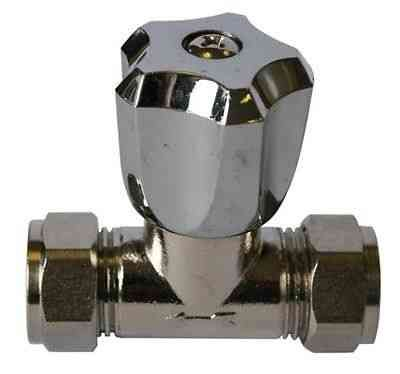 15mm Chrome Shower Needle Valve