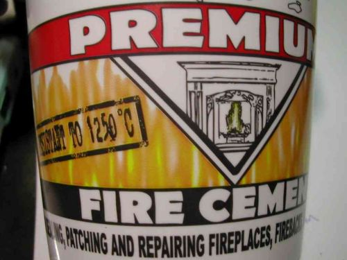 Fire Cement 1kg Black | Ready Mixed
