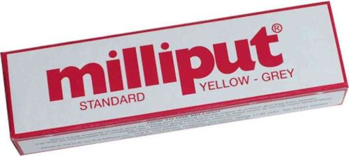Milliput Standard Epoxy Putty | Yellow / Grey