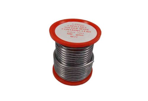 Plumbing Solder Wire With Lead 500g Reel