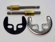 Monobloc Tap Fixing Kit | 2 Bolts, Bracket & Washer