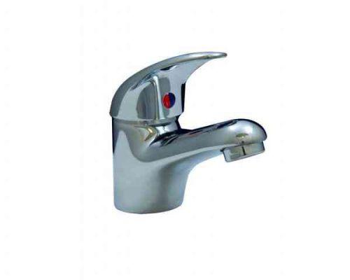 Pertano Monobloc Bathroom Basin Lever Mixer Tap