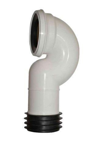 Toilet / WC Pan Connector | Swan Neck Elbow