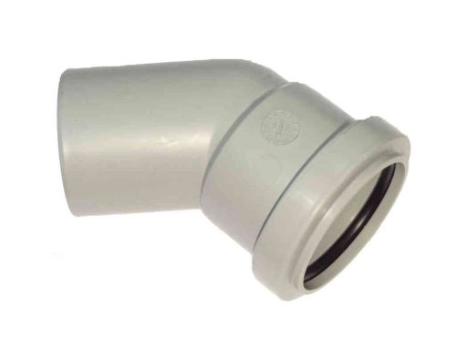 1-1/2 Inch Waste Pipe Push-fit 45 M x F Elbow