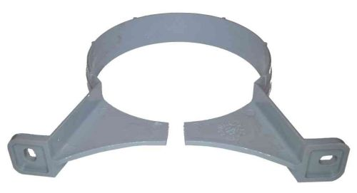110mm Waste Pipe Clip Grey