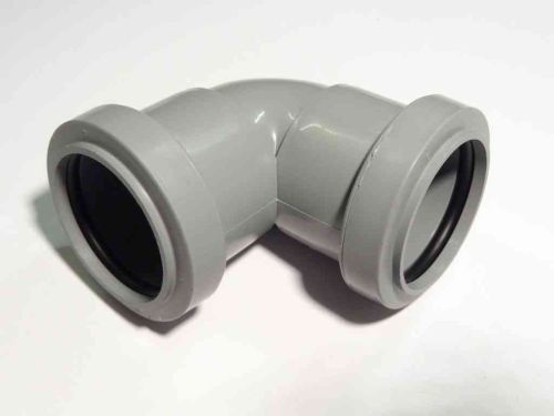 1-1/4 Inch Waste Push-fit 90 Elbow