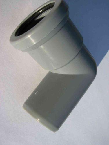 1-1/4 Inch Waste Push-fit 90 MxF Male x Female Elbow Grey
