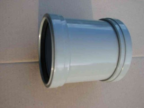 110mm Waste Grey Push-fit Slip Coupler