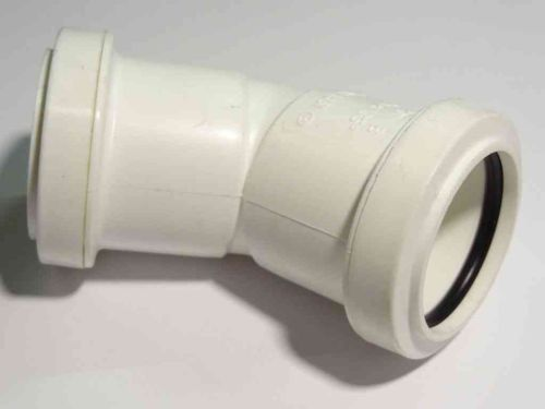 1-1/4 Inch Waste Push-fit 45 Degree Elbow