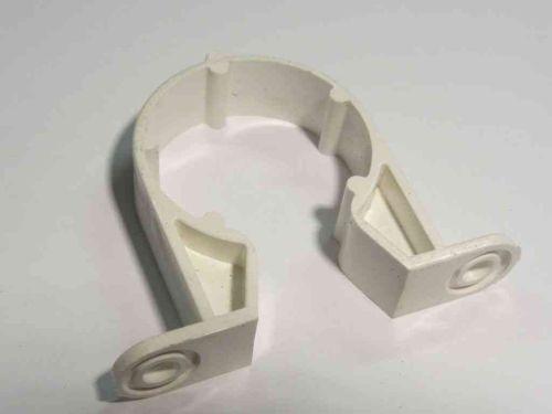 """32mm (1-1/4"""") Waste Pipe Clip / Bracket"""