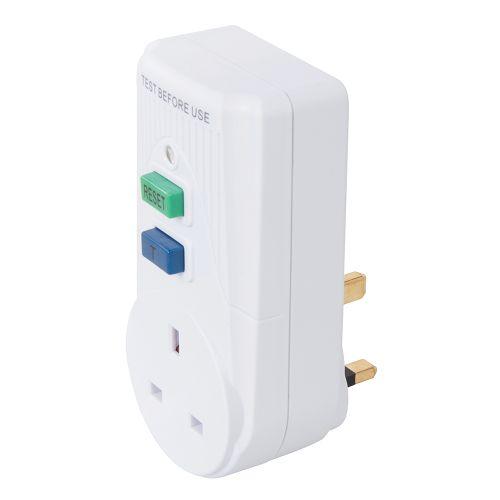 Plug in 13A RCD Earth Leakage Circuit Breaker