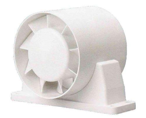 "In-line Bathroom Extractor Timer Fan 100mm / 4"""
