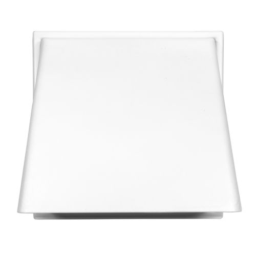 "White Gravity Flap Cowled Ventilation Outlet 100mm (4"")"