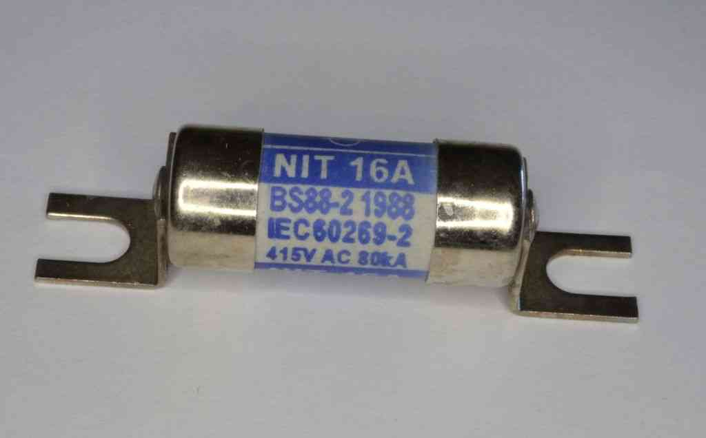 Bs88 2 16 Amp Nit Bolted Fuse Stevenson Plumbing