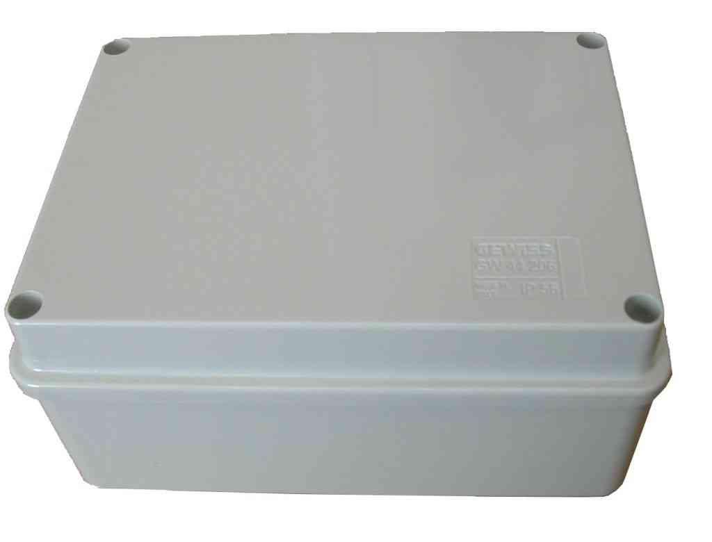 Plastic Junction Box 150mm X 110mm X 70mm Stevenson