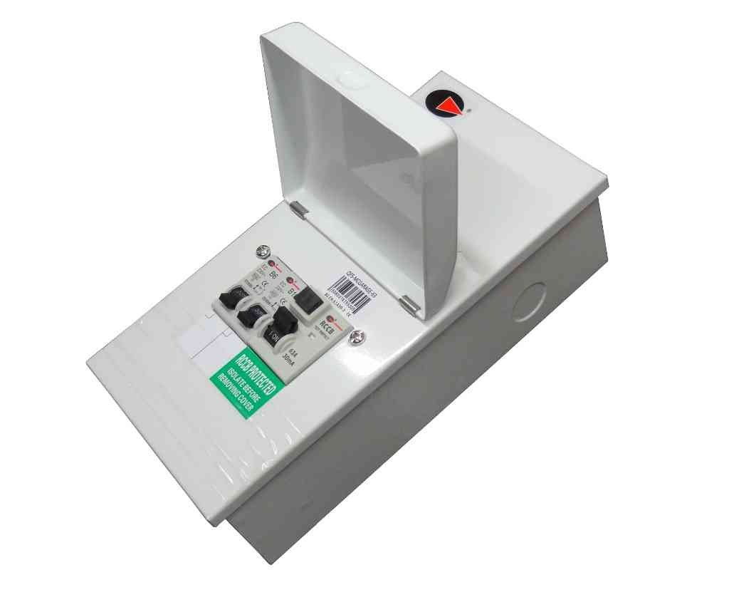 Garage Consumer Unit | With MCBs and RCD