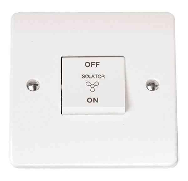 Fan Isolator Switch   3 Pole