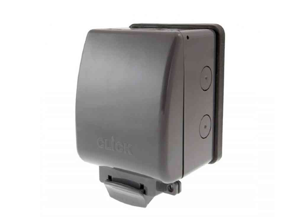 Weatherproof Outdoor 13a Socket Outlet 1 Gang Ip66