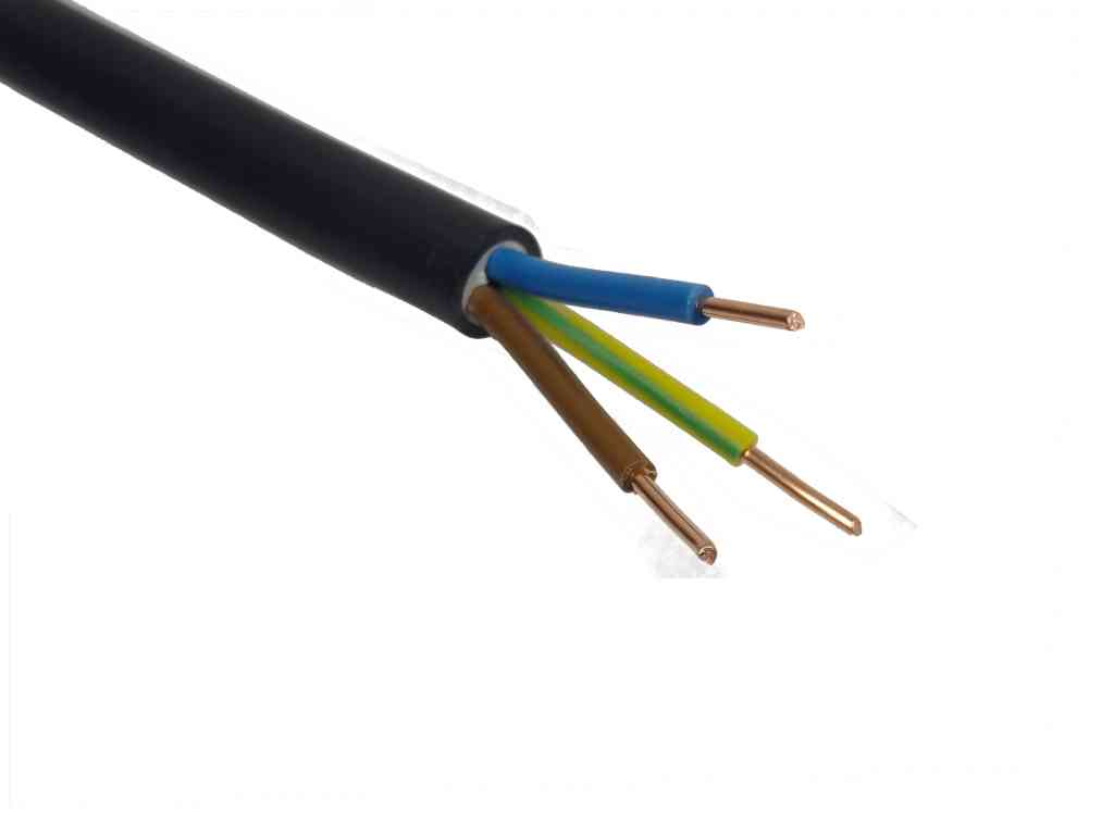 1.5mm 3 Core Tuffwire Outdoor Cable / Per Metre
