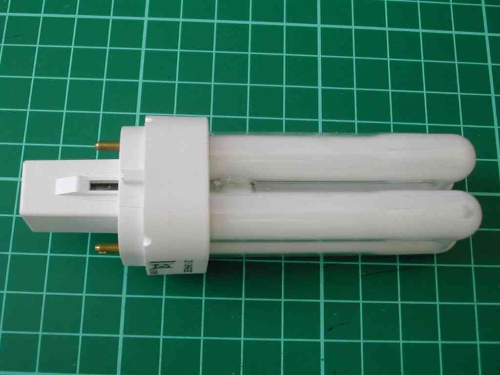 10W 2 Pin PL-C Compact Fluorescent Lamp (CFL)