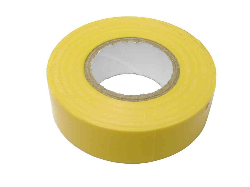 Yellow PVC Insulation Tape 19mm x 20m