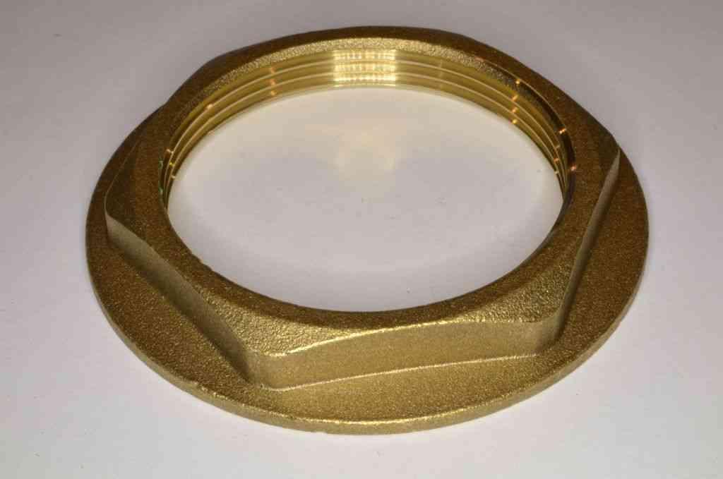 2 Inch BSP Brass Flanged Back Nut