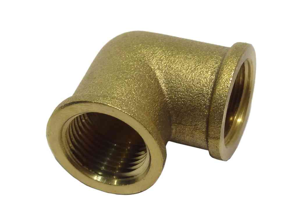 3/8 Inch BSP Brass Elbow | FxF Female x Female