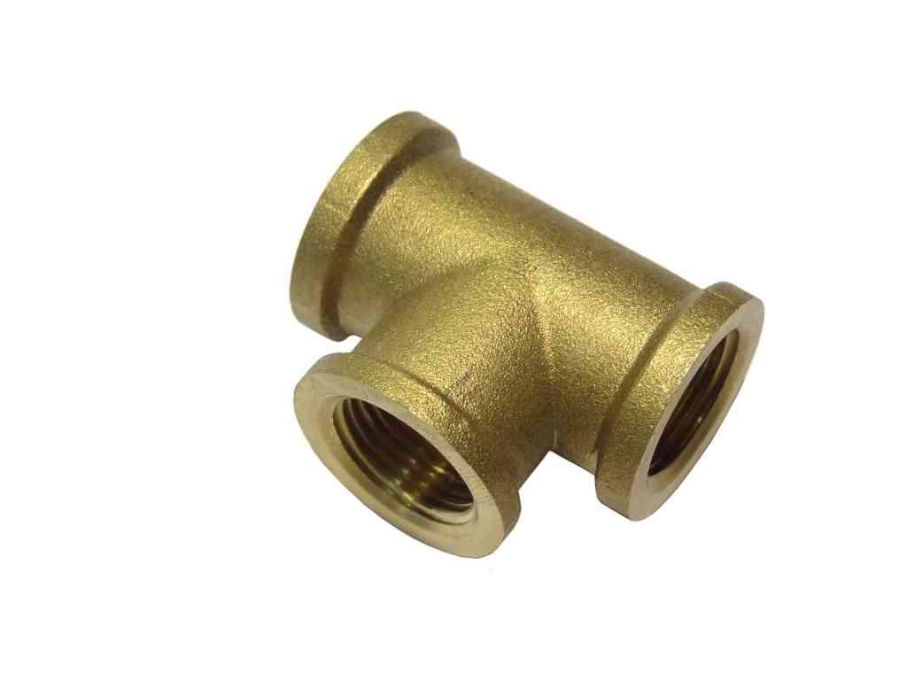 Inch bsp brass tee stevenson plumbing electrical