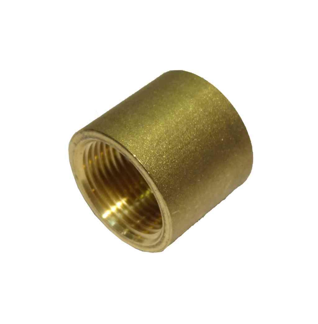 Inch bsp brass socket british standard pipe thread