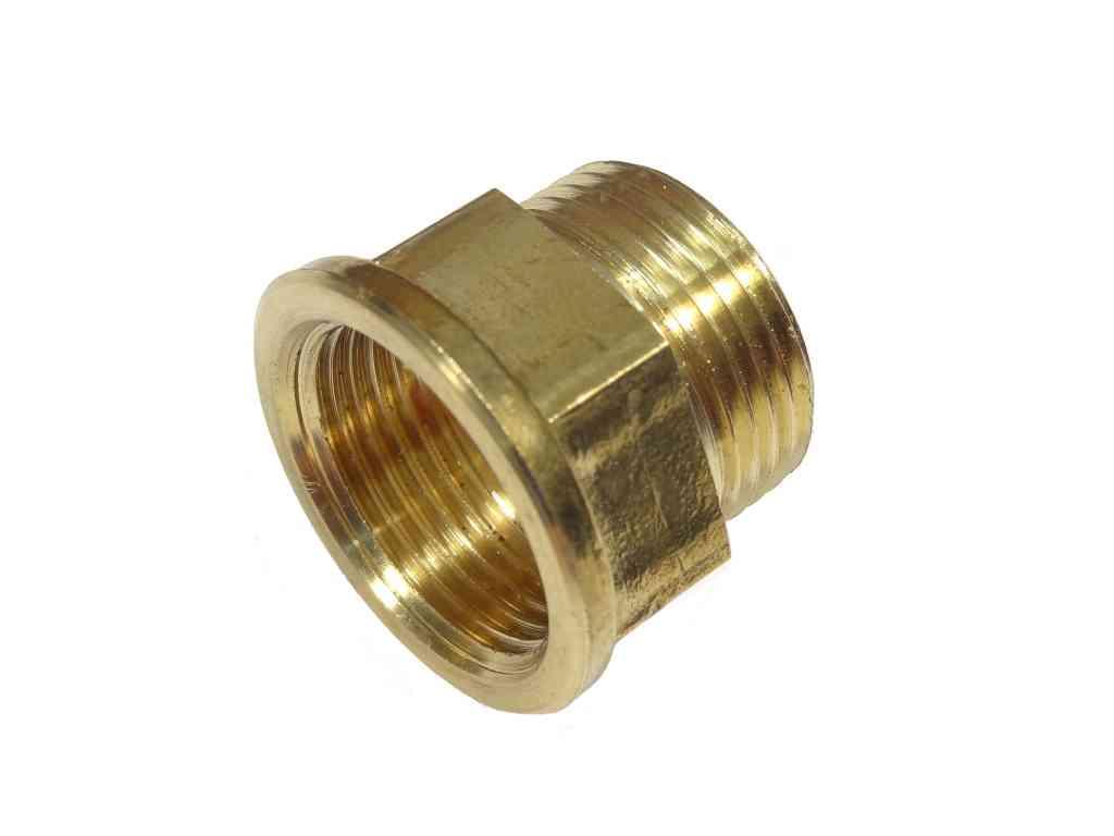 3/4 Inch BSP Male x Female Brass Tap Thread Extension