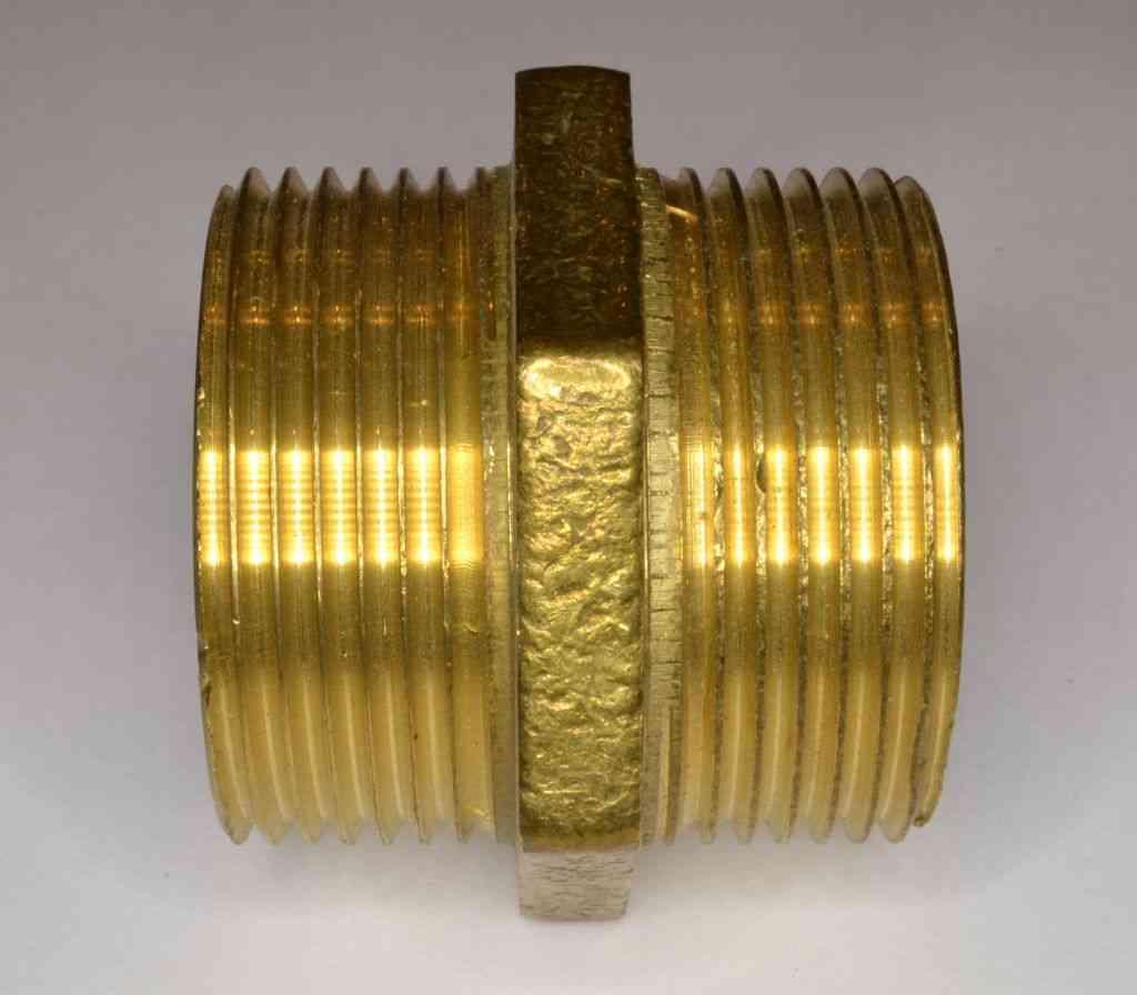 1 1 4 Inch Bsp Brass Hex Nipple Stevenson Plumbing