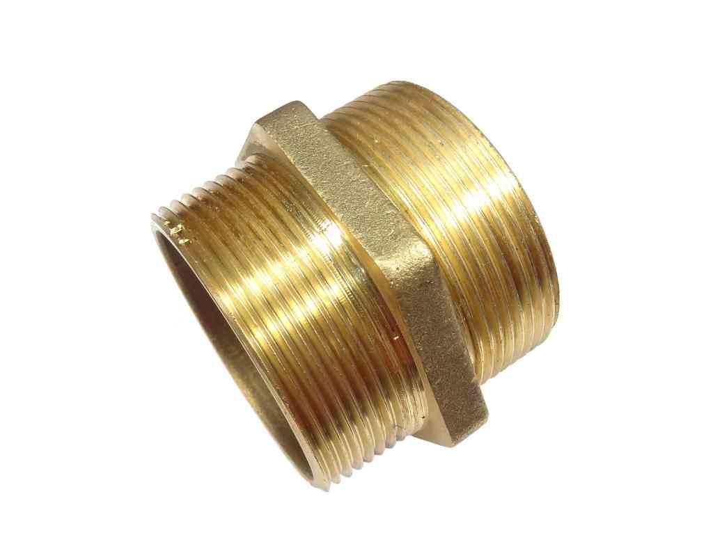 Inch bsp brass hex nipple british standard pipe thread