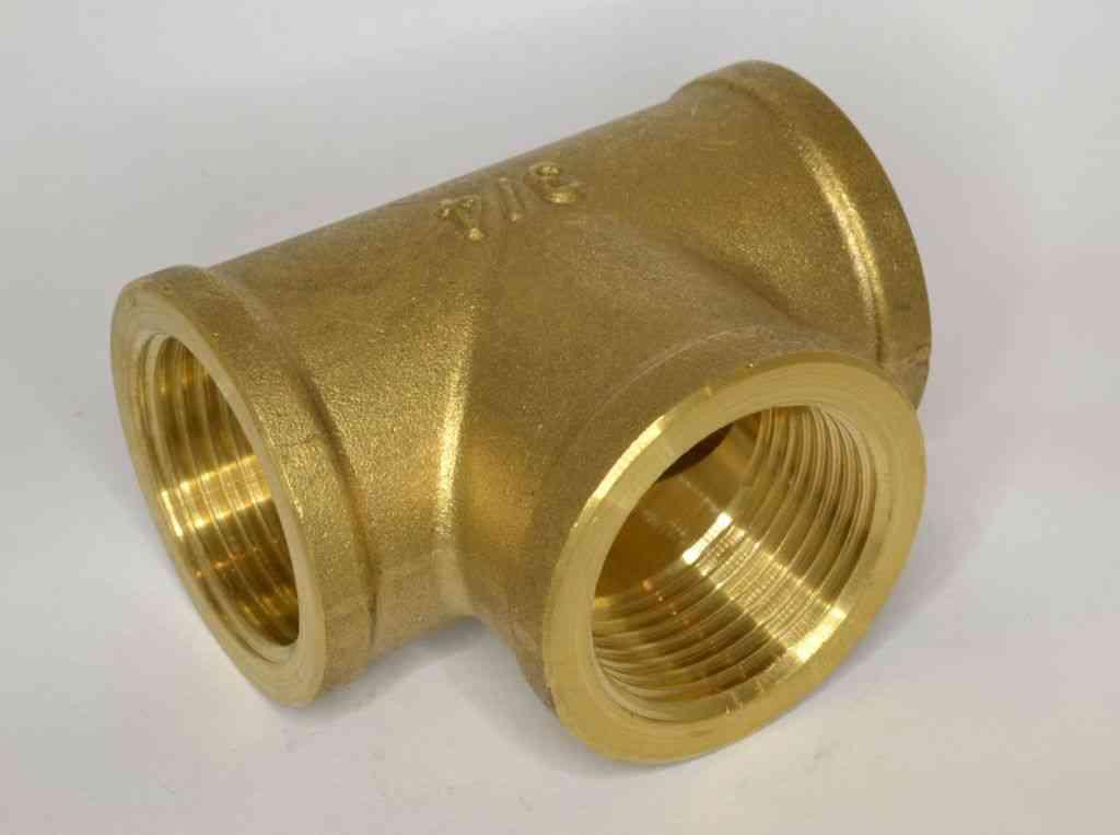 3 4 Quot Bsp Brass Tee Stevenson Plumbing Amp Electrical Supplies