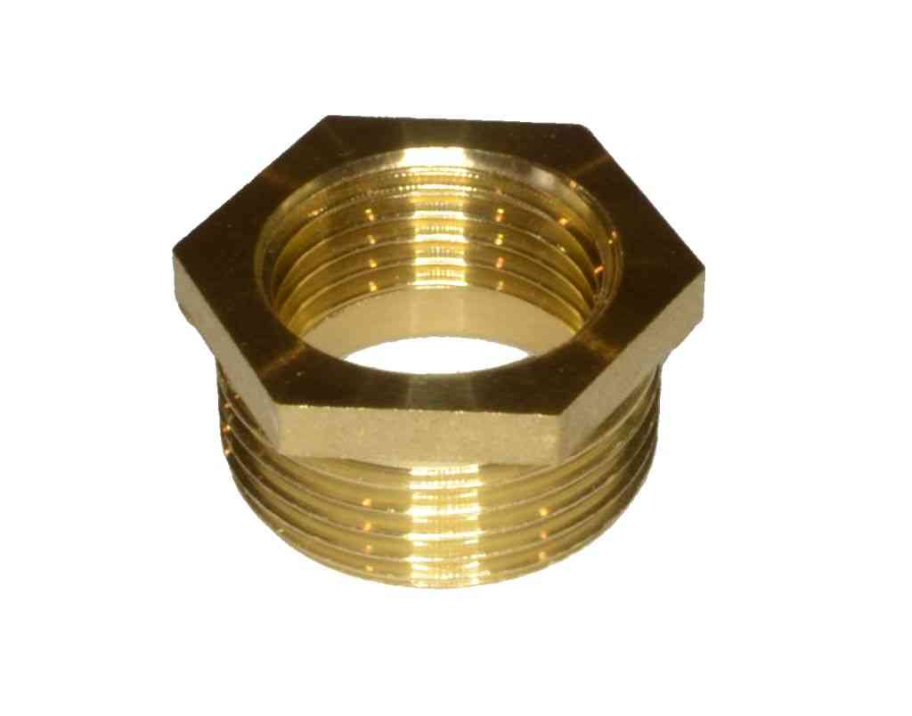 Inch bsp brass hex reducing bush ebay