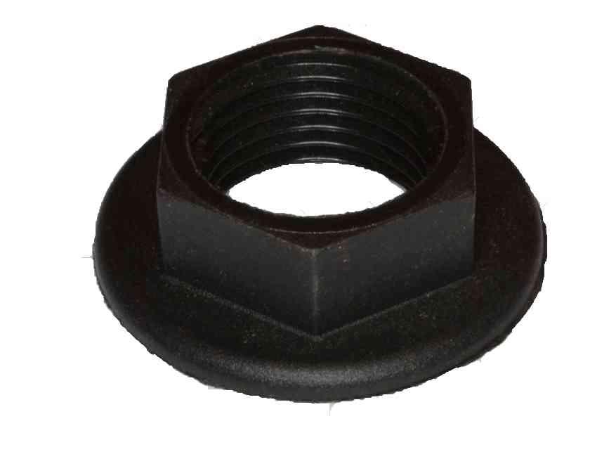 1 2 Inch Bsp Plastic Flanged Back Nut Stevenson Plumbing