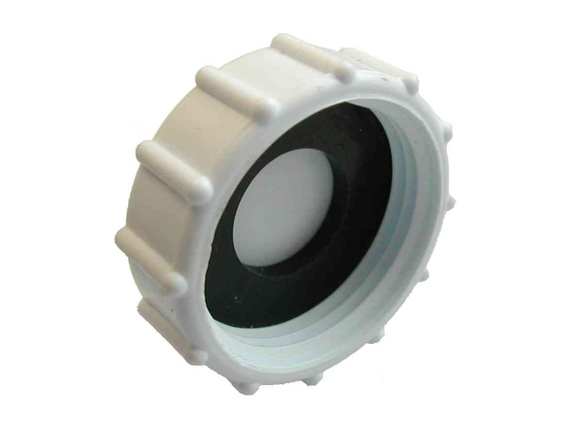 Inch bsp plastic cap blank nut and washer ebay