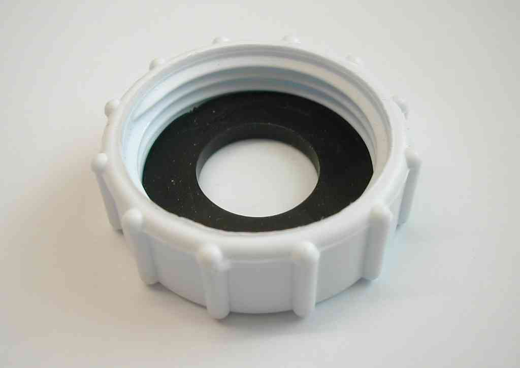 Quot bsp plastic cap blank nut with washer stevenson