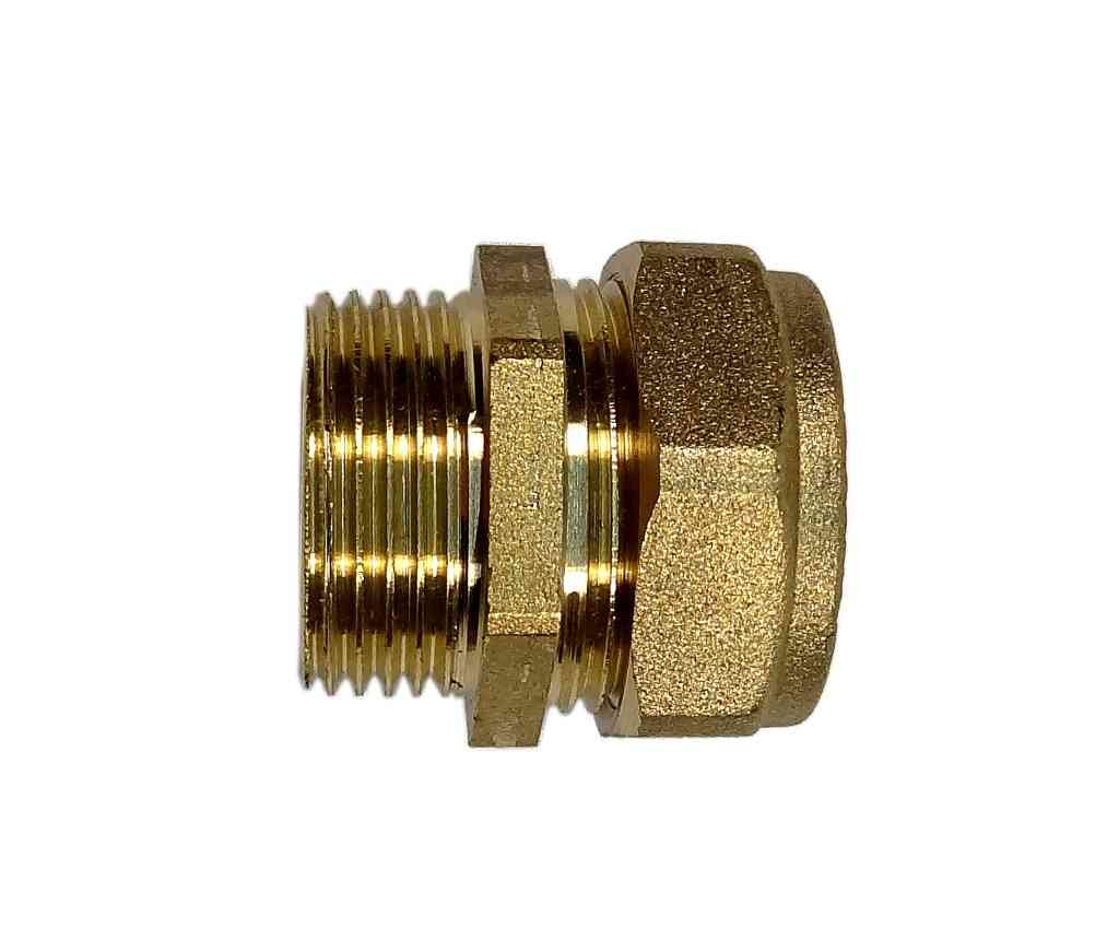 "Cold Solder Joint >> 22mm Compression x 3/4"" BSP Male Adaptor 