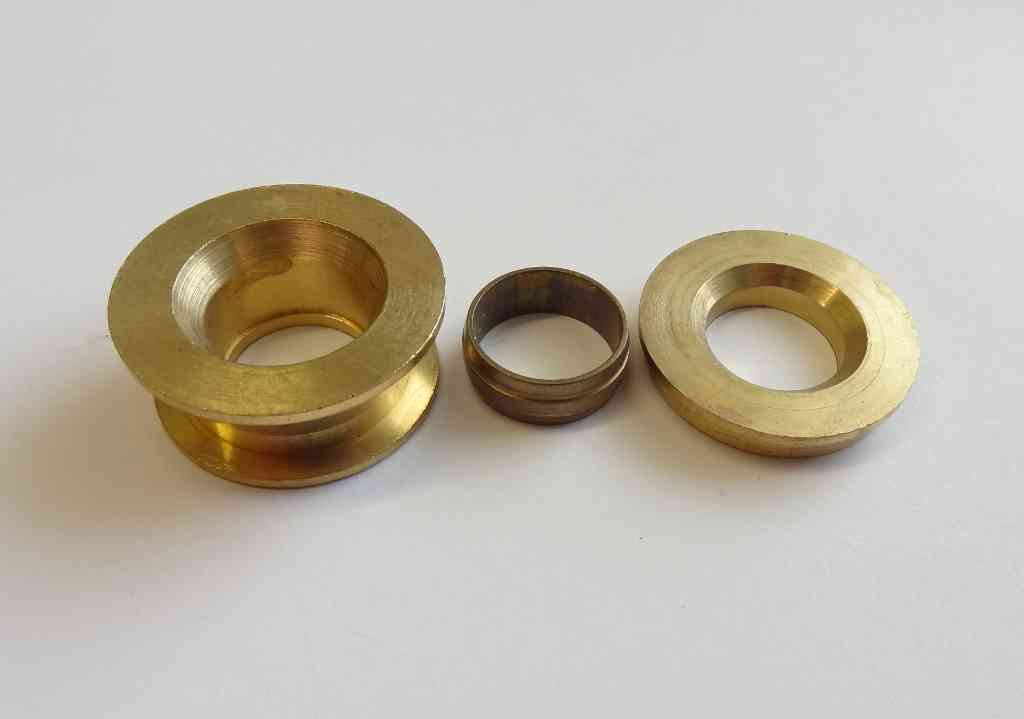 Mm compression fitting reducing set part