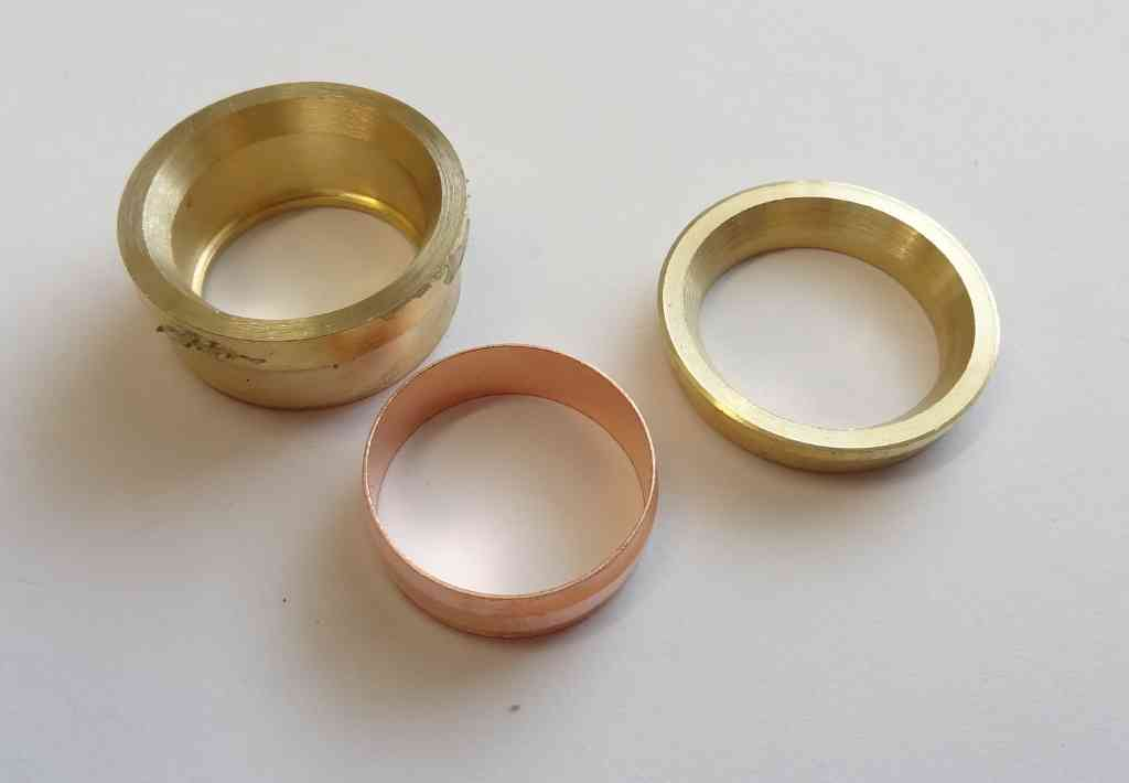 28mm x 22mm Compression Fitting Reducing Set