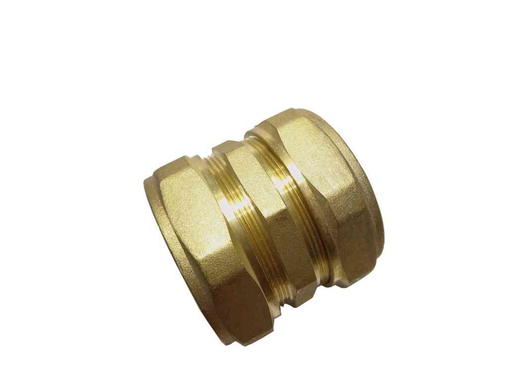 Mm compression straight coupling stevenson plumbing