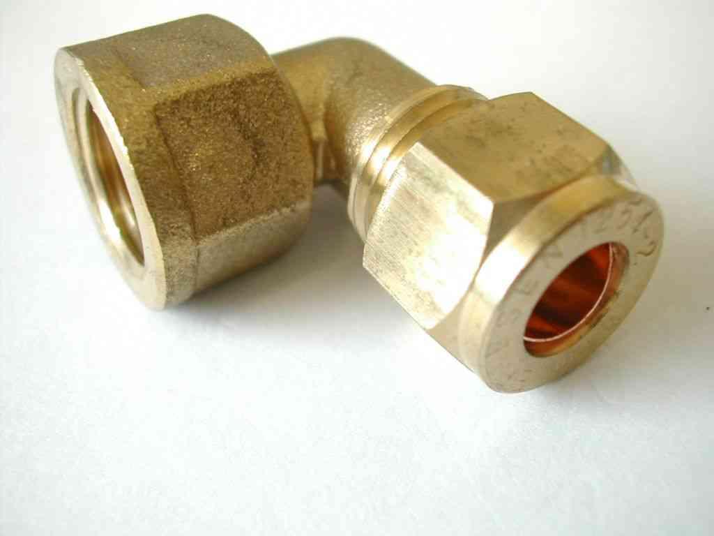 Mm compression inch bsp female elbow stevenson