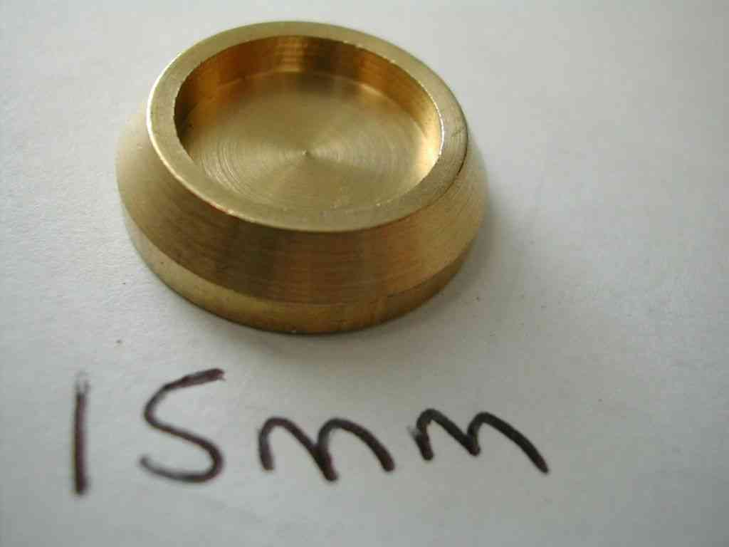 15mm Compression Fitting Blanking Disc