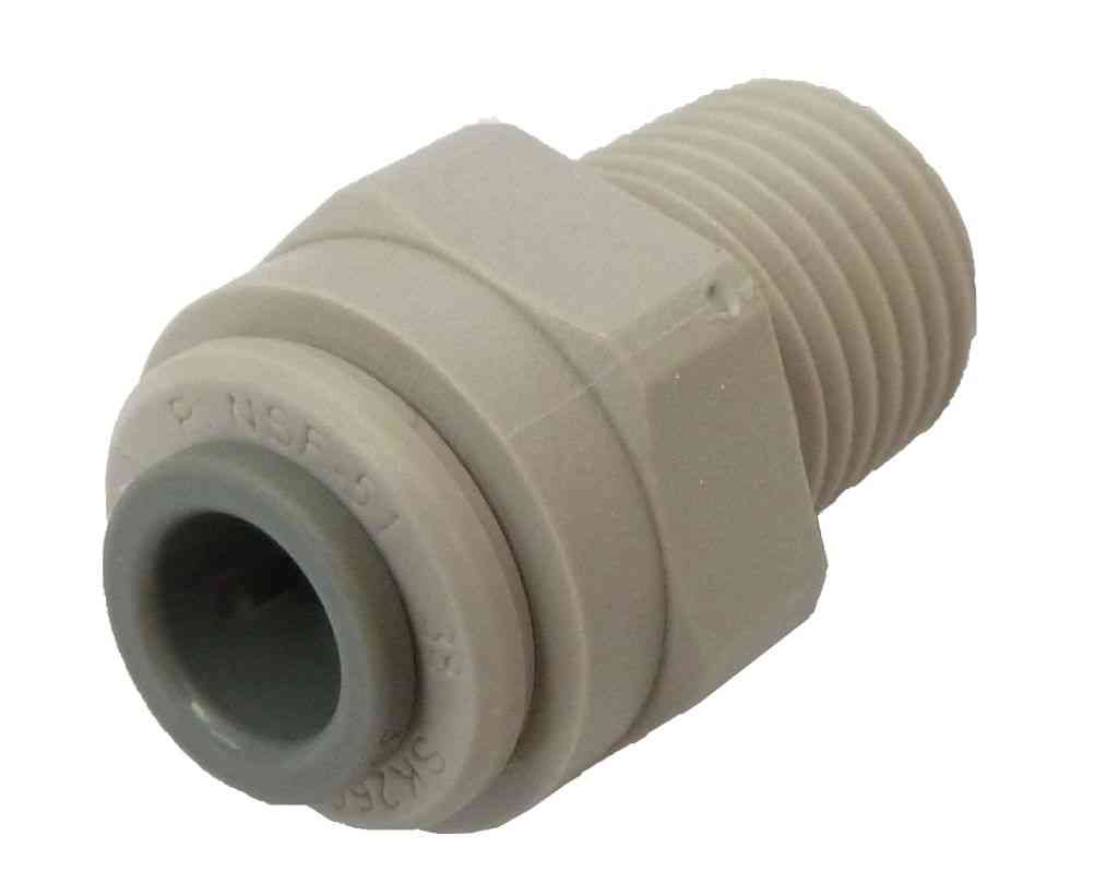 1/4 Inch Fridge Pipe To 1/4 Inch NPT Male Adaptor
