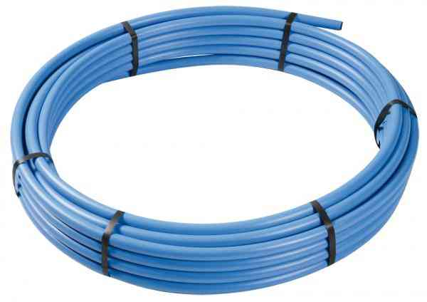 Blue 20mm MDPE Pipe (25m Coil)