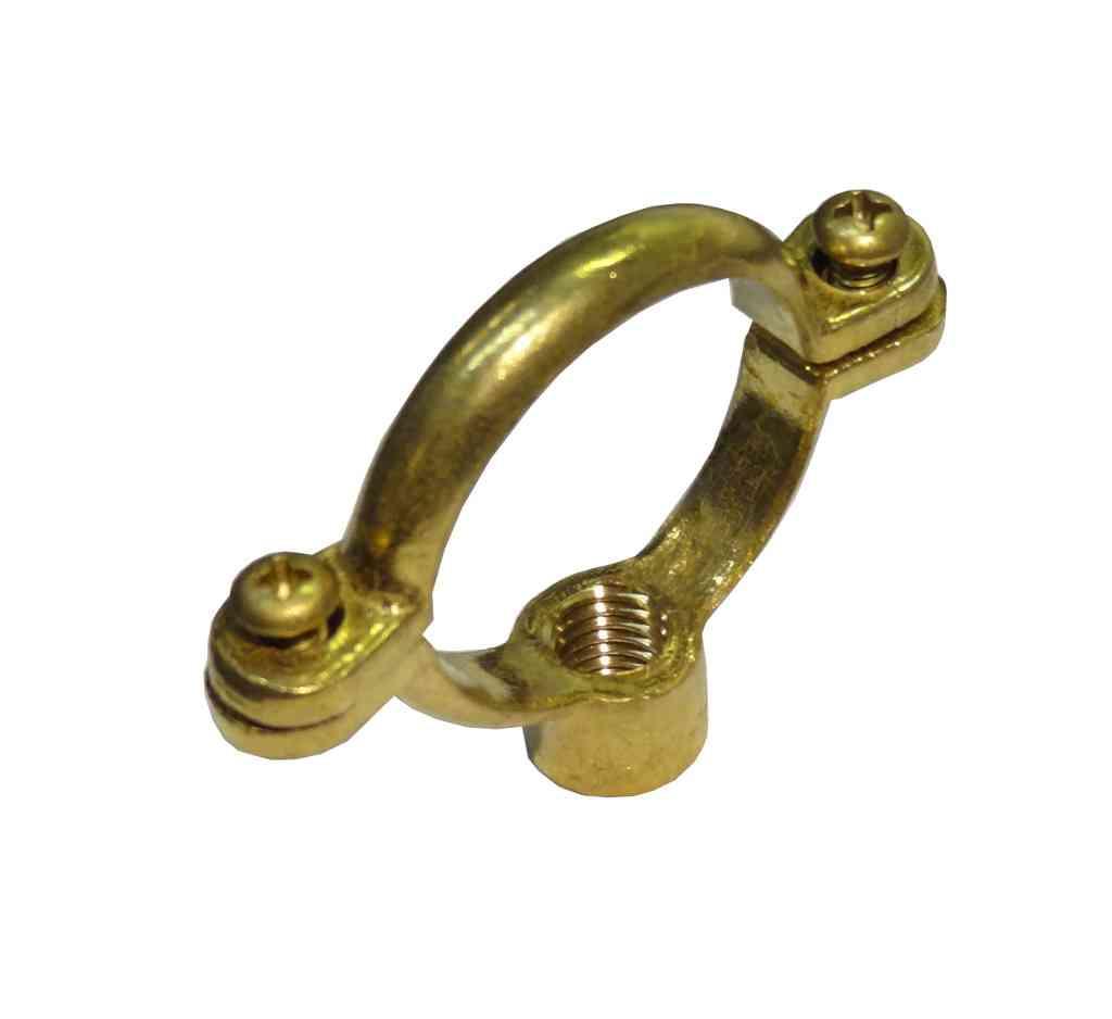 35mm Brass Munsen Ring Pipe Clip M10 Stevenson