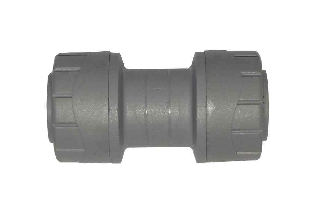15mm Polyplumb Straight Coupler | PB015